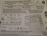 Paidi Fleximo Spielbett mit Griffleiter