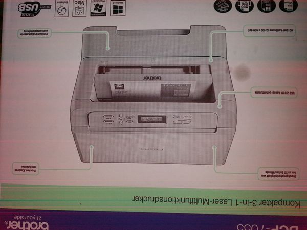 Laserdrucker Brother DCP-7055 Neu