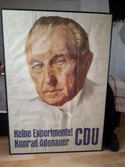 Wahlplakat Conrad Adenauer