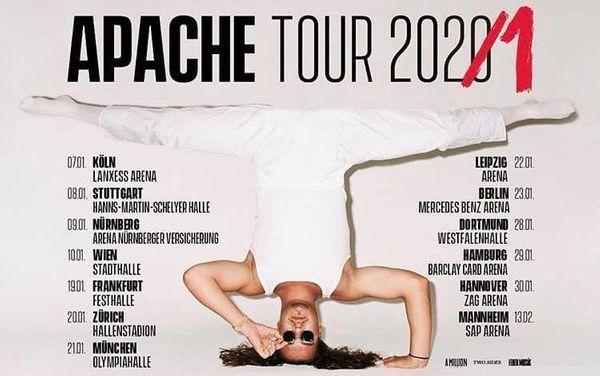 2-mal Apache 207 Mannheim Stehplatz -