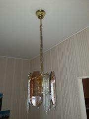 Lampe aus Glas