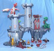 Playmobil große Drachenfestung 4835 Drache