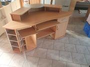 Großer Eck-Pc-Schreibtisch