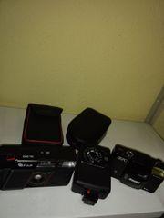 1 Fotoapparat 1 Blitzer