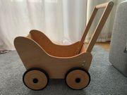 Puppenwagen Holz Pinolino