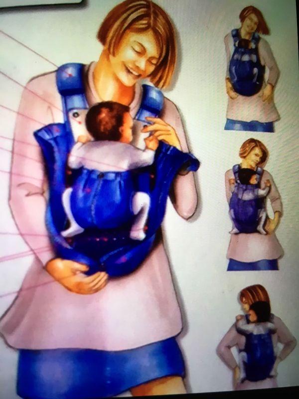 Glückskäfer Babytrage