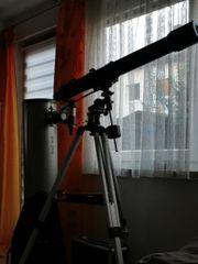 Teleskope 90x1200 und Spiegelteleskop 200x1200