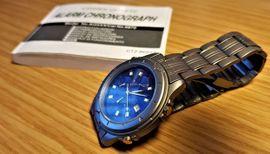 Citizen Titanium Chronograph 100m Vintage: Kleinanzeigen aus Leverkusen - Rubrik Uhren