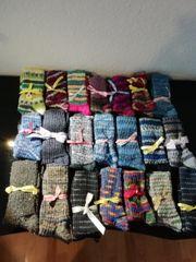 selbstgestrickte Socken Gr 37-48