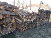 Brennholz Buche Geschnitten und gespalten