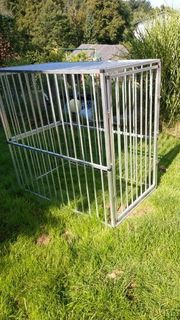 Große Alu Autohundebox Hundebox Käfig
