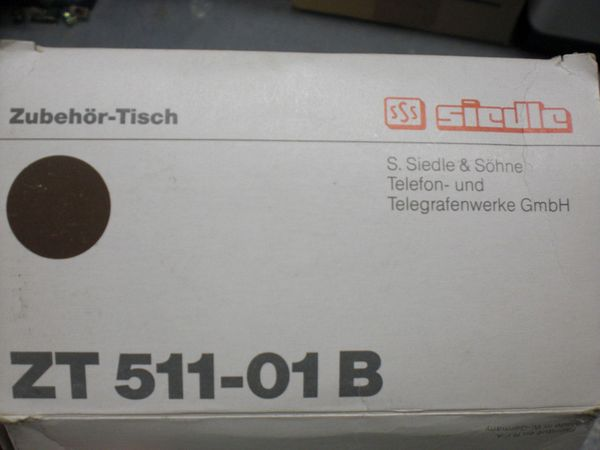 Siedle Tischzubehör ZT 511-01 B