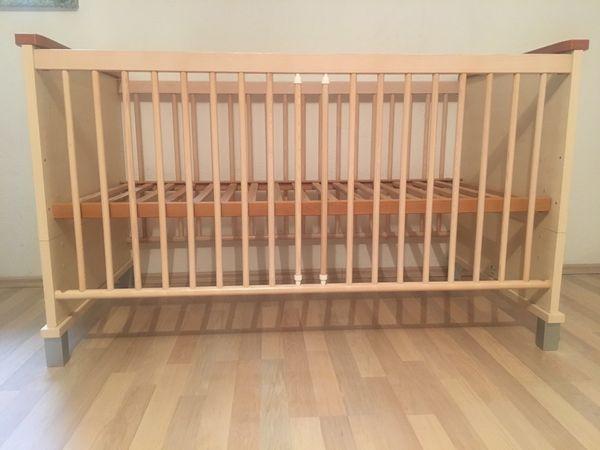 Babybett Kinderbett Gitterbett Paidi mit