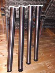 4 Tischbeine 71 - 74 cm