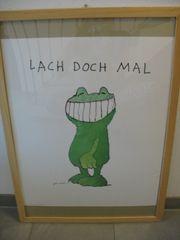 Gerahmtes Poster von Janosch