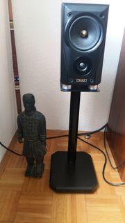 Lautsprecher-Ständer schwarz