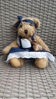 Hochwertiges Trachten-Teddy Mädchen