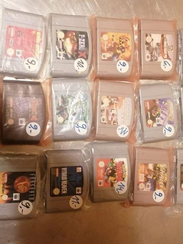 N64 Spiele