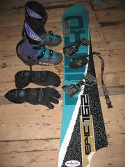 snowboard Handschuhe Schuhe schon weg