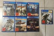 PS4 Spiele zu verlaufen