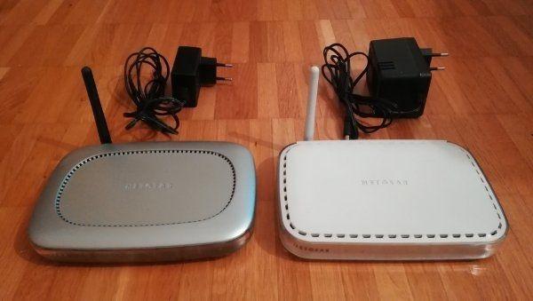 Netgear Router WGT624 und WGR614