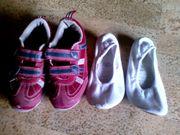 Schuhe Turnschuhe Turnschläppchen Schläppchen Gr