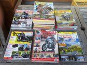 Motorradzeitschriften aus den Jahren 2015 -