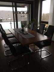Esszimmer - 6Stühle mit Tisch