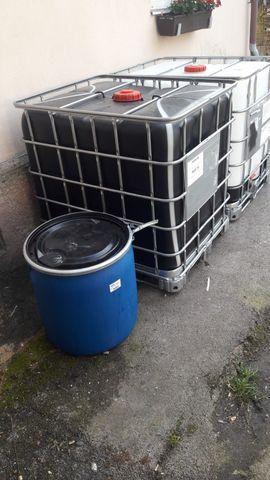 Sonstiger Gewerbebedarf - Gebrauchte 1000 Liter IBC-Behälter aus