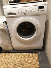 Siemens Waschmaschine Neuwertiger Zustand A