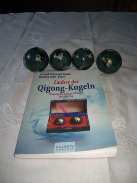 Bild 4 - 4 Qi Gong Kugeln Yin - Birkenheide Feuerberg