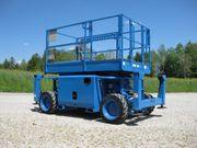 Scherenarbeitsbühne SKYJACK SJ6826RT - Diesel - Allrad -