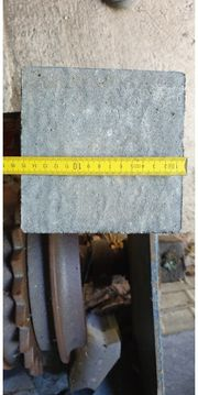 Pflastersteine zu verschenken 8cm dick