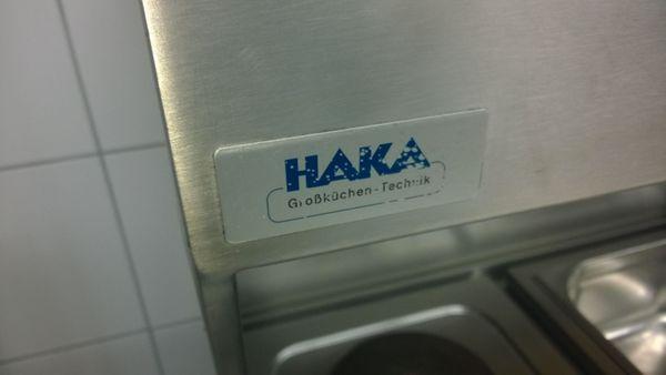 HAKA Küchenzeile für Großküchen