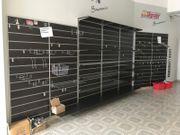 Komplette Ladeneinrichtung inklusive Wand- Einzelteile