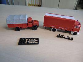 Modellautos - 10 Feuerwehr Modelle 1 87