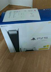 Playstation 5 disc Version Neu