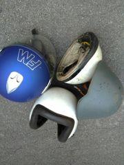 Verschiedene Helme