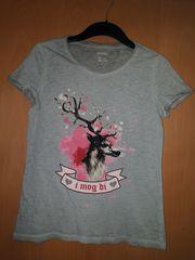 Schickes T-Shirt Top Trachten-Top Trachtenmode