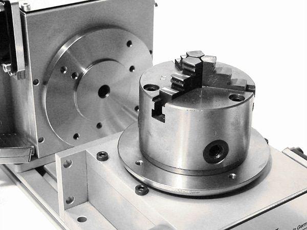 Drehtisch - 4 Achse CNC - Drehachse