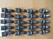 20 Radschrauben 17 mm Kegelbund
