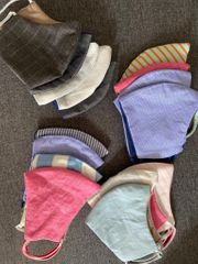 Hochwertige Stoffmasken aus 100 Baumwolle