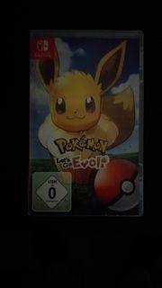 Pokemon Lets Go Evoli für