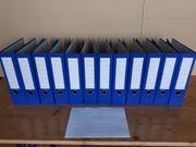 Büro-Ordner 6 oder 12 Aktenordner