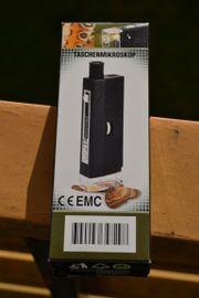 Verkaufe Taschenmikroskop Mini Mikroskop 60-100