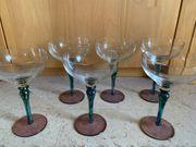 schöne Cocktail-Gläser