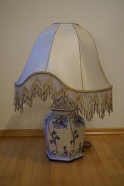 Florentiner Keramik Tischlampe