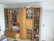 Zeitlose stilvolle Wohnzimmer Anbauwand in