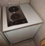 2 elekt Kochplattenen mit elek