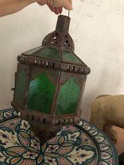 orientalische Pendelleuchte - Kunsthandwerk aus Marokko